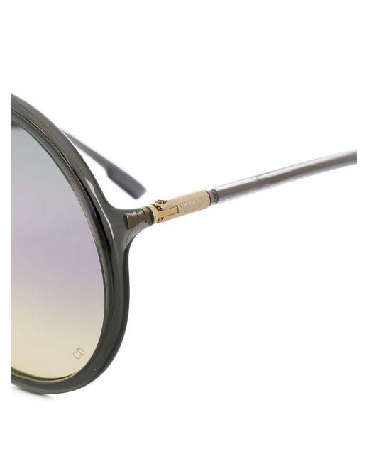 Dior ラウンド サングラス Gray