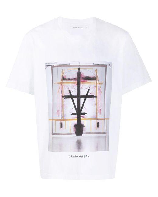 メンズ Craig Green Campaign Tシャツ White