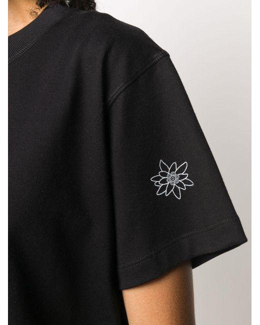 T-shirt crop di Styland in Black