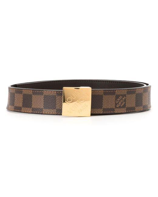 Ремень Carre С Логотипом Pre-owned Louis Vuitton, цвет: Brown
