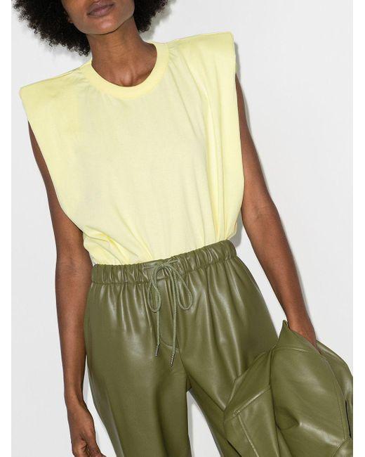 Frankie Shop Eva Tシャツ Yellow