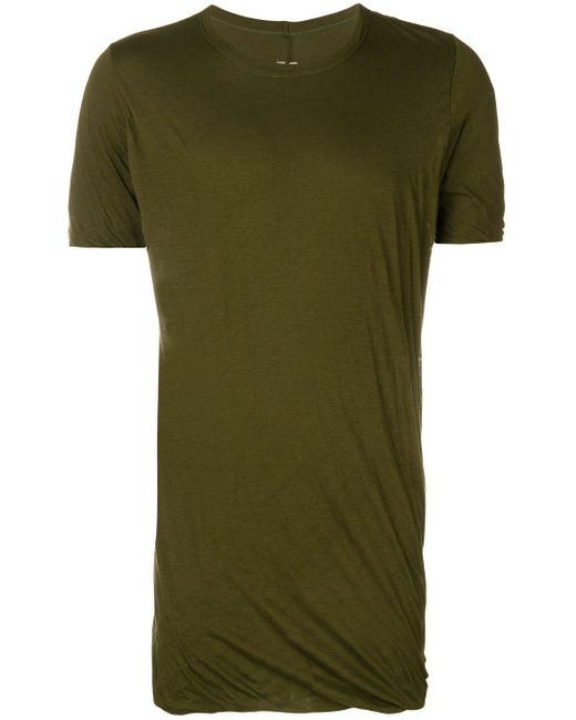 メンズ Rick Owens Level Tシャツ Green