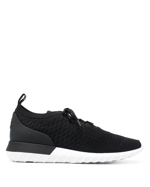 Moncler Black Emilien Low-top Sneakers for men