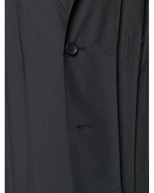 メンズ Issey Miyake プリーツ ライトジャケット Black