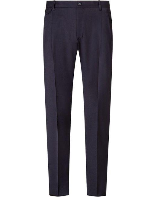 Pantaloni sartoriali di Dolce & Gabbana in Blue da Uomo