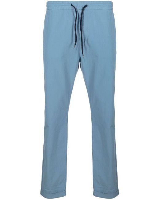 Pantalones slim con cordones PS by Paul Smith de hombre de color Blue