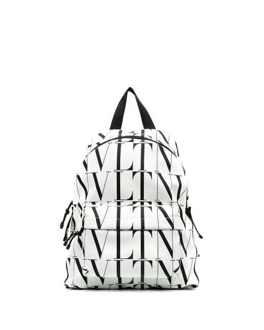 メンズ Valentino Vltn バックパック White