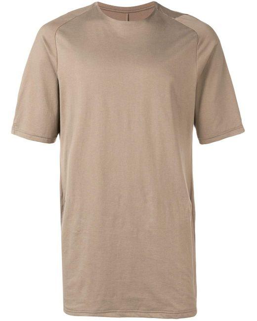 Camiseta con cuello redondo DEVOA de hombre de color Gray