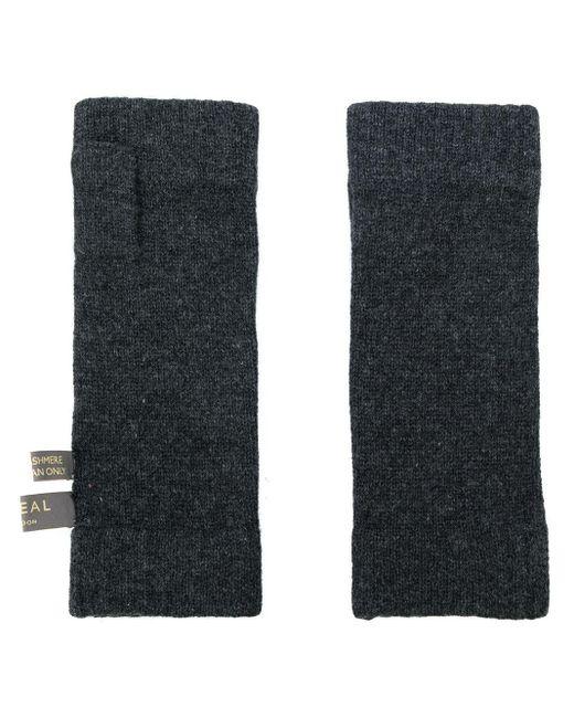 Классические Митенки N.Peal Cashmere для него, цвет: Gray