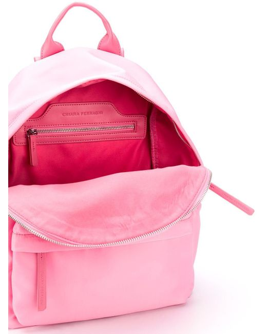 Рюкзак С Вышивкой Chiara Ferragni, цвет: Pink