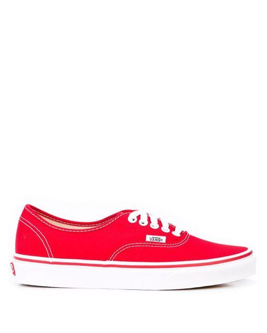 Vans Authentic スニーカー Red