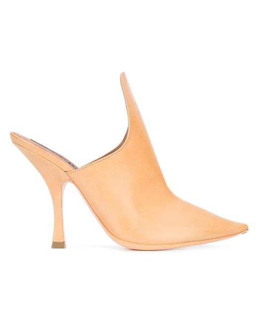 Y. Project - Natural Stefania Jazz Mules - Lyst
