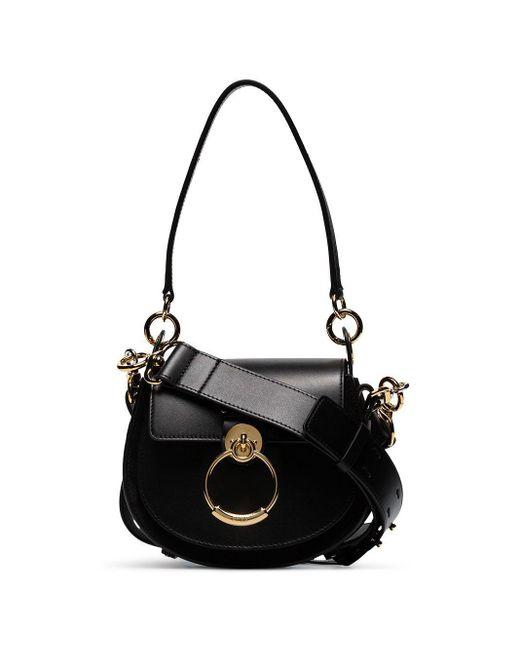 Chloé Black Small Tess Shoulder Bag