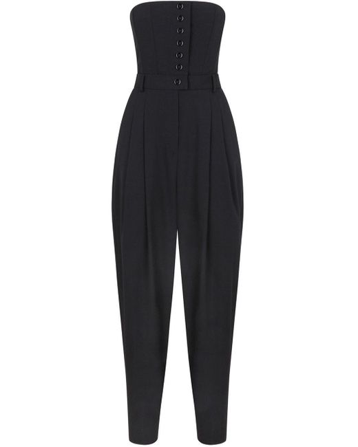 Dolce & Gabbana ベルテッド ジャンプスーツ Black