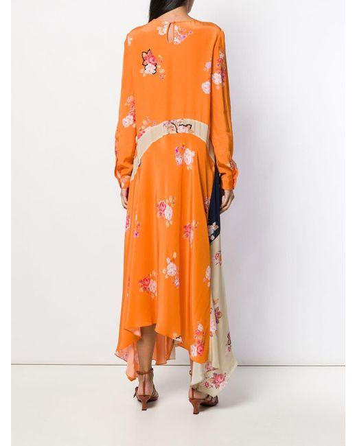 Preen Line Selena ドレス Orange