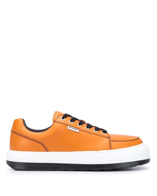メンズ Sunnei チャンキーソール スニーカー Orange