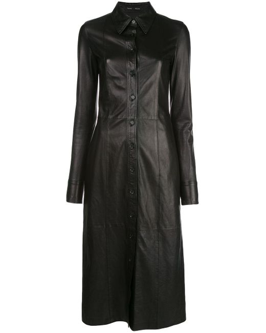 Proenza Schouler シャツドレス Black