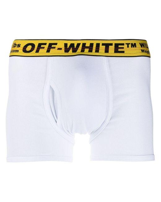 メンズ Off-White c/o Virgil Abloh Industrial ボクサーパンツ White