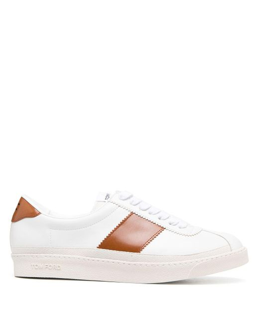 Baskets Bannister Tom Ford pour homme en coloris White