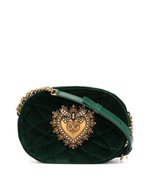 Dolce & Gabbana Devotion カメラバッグ Green