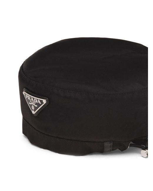 メンズ Prada ロゴ ハット Black
