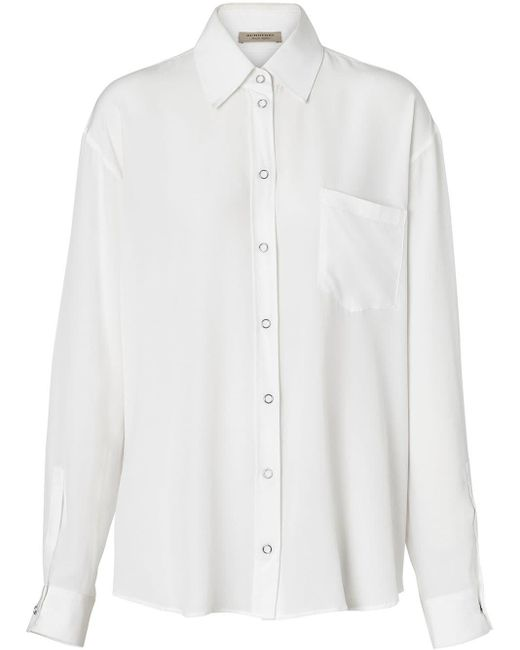 Burberry オーバーサイズ シャツ Multicolor