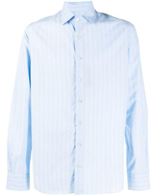 Рубашка В Полоску Etro для него, цвет: Blue