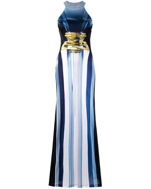 Mary Katrantzou Imaan ドレス Blue