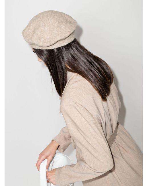 Lauren Manoogian ベレー帽 Natural