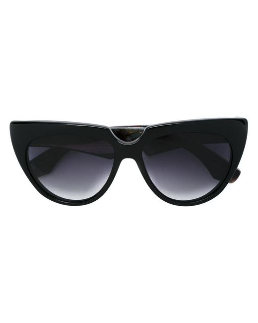 Jacques Marie Mage   Black - 'edith' Sunglasses - Women - Acetate/wood - One Size   Lyst