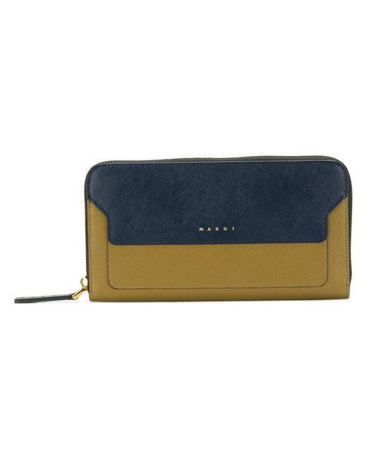 Marni - Brown Trunk Continental Wallet - Lyst