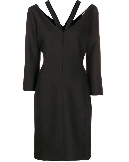 Stella McCartney ロングスリーブ ドレス Black