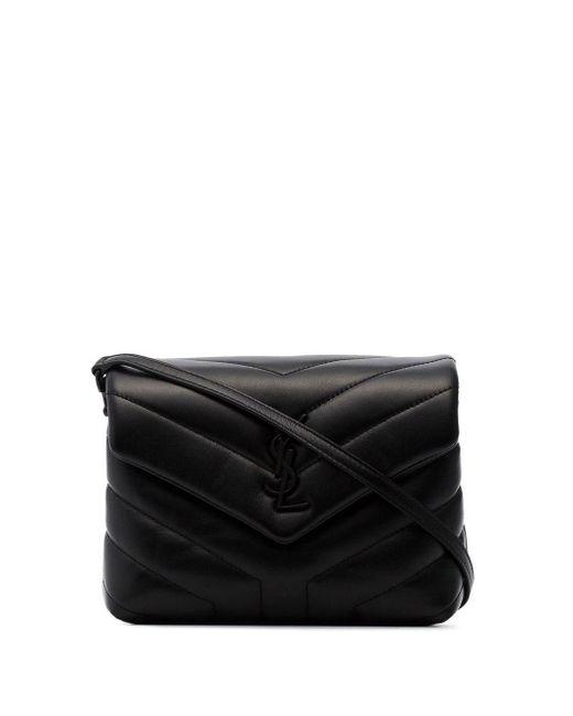 """Кожаная Сумка """"toy Loulou"""" Модель Monogram Saint Laurent, цвет: Black"""