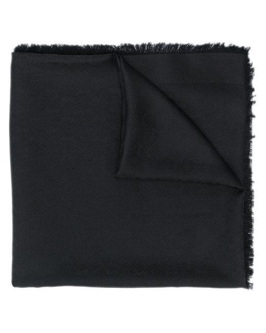 メンズ Saint Laurent フレイド スカーフ Black