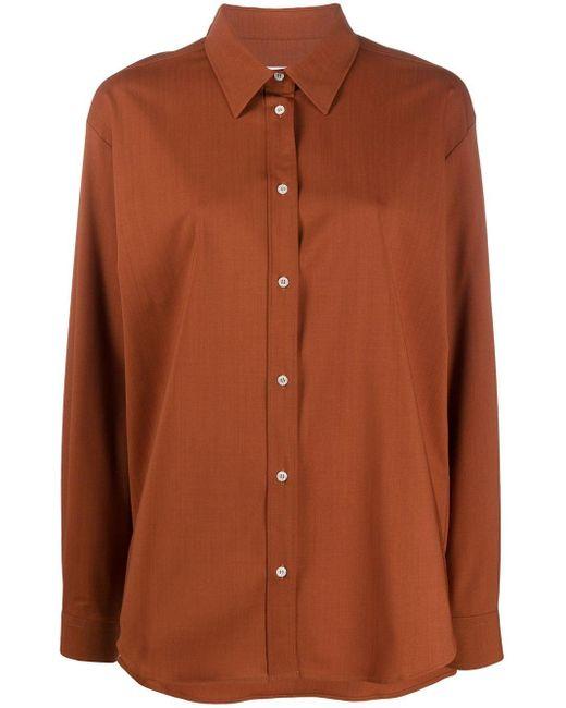 Camicia di MSGM in Brown