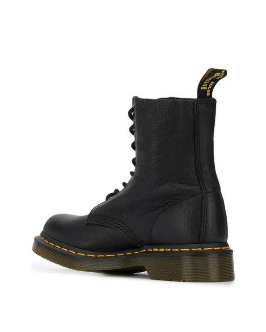 Dr. Martens 1460 Pascal Virginia Boots Black