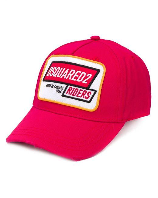 Бейсболка С Логотипом DSquared² для него, цвет: Red