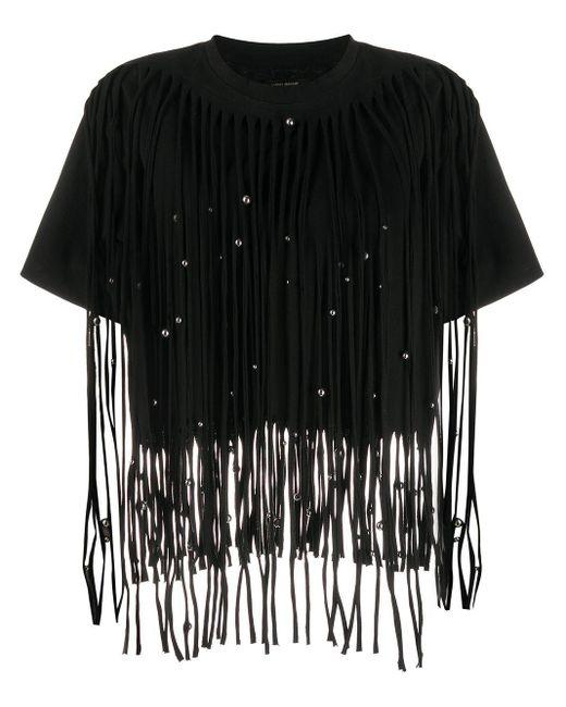 Isabel Marant Bianea ビーズディテール Tシャツ Black