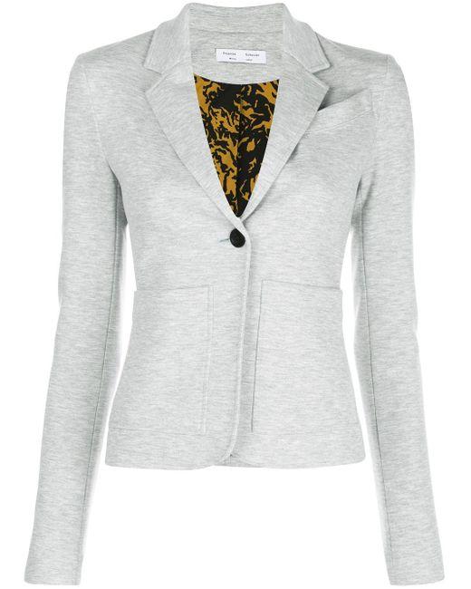 PROENZA SCHOULER WHITE LABEL テーラードジャケット Gray