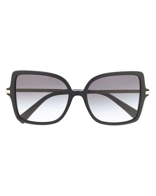 Солнцезащитные Очки В Массивной Квадратной Оправе Valentino Garavani, цвет: Black