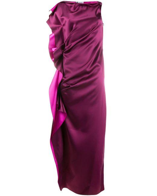 Lanvin イブニングドレス Purple
