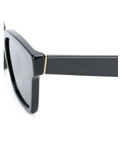 Gafas de sol con montura cuadrada Retrosuperfuture de color Black