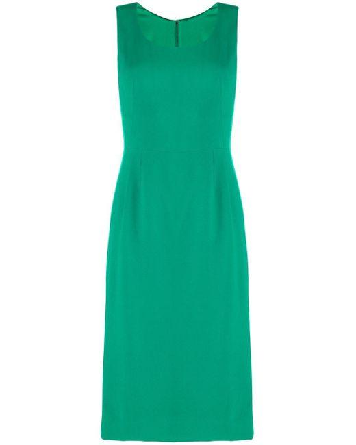 Dolce & Gabbana スリムフィット ミディドレス Green