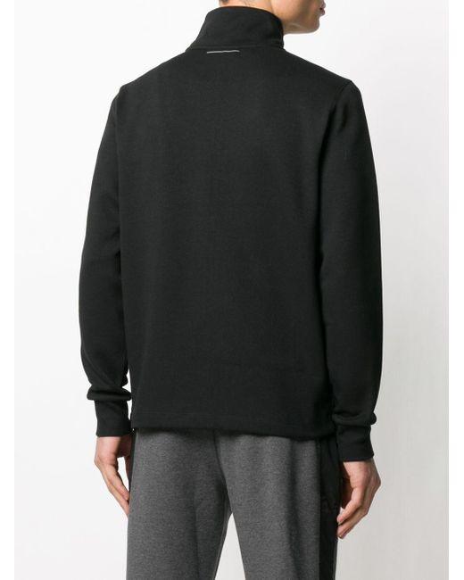 メンズ Calvin Klein ロゴ ジャケット Black