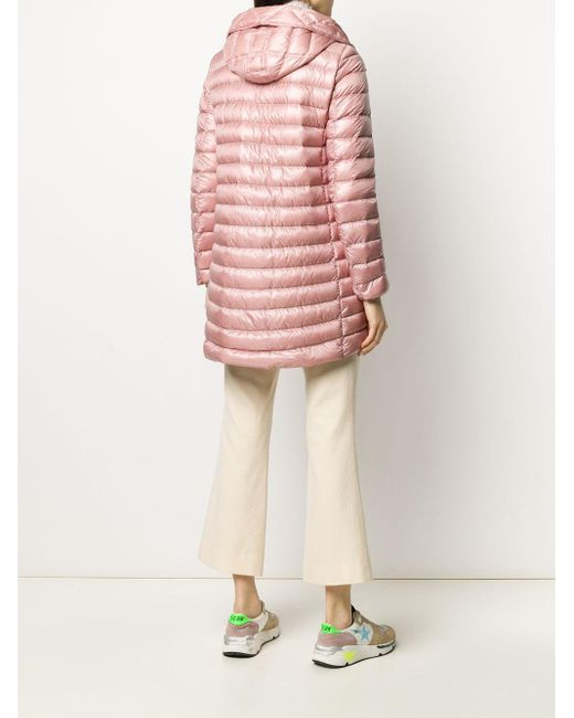 Moncler Rubis ナイロンダウンコート Pink