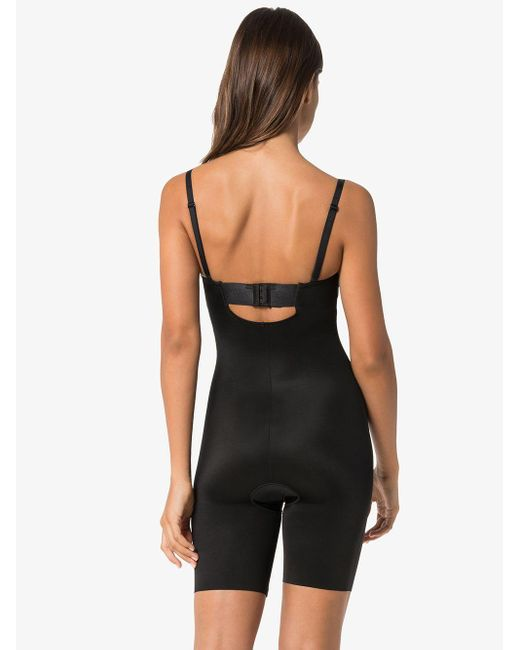 Spanx Black Halblanger 'Suit Your Fancy' Body