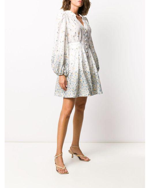 Zimmermann Carnaby ミニドレス White