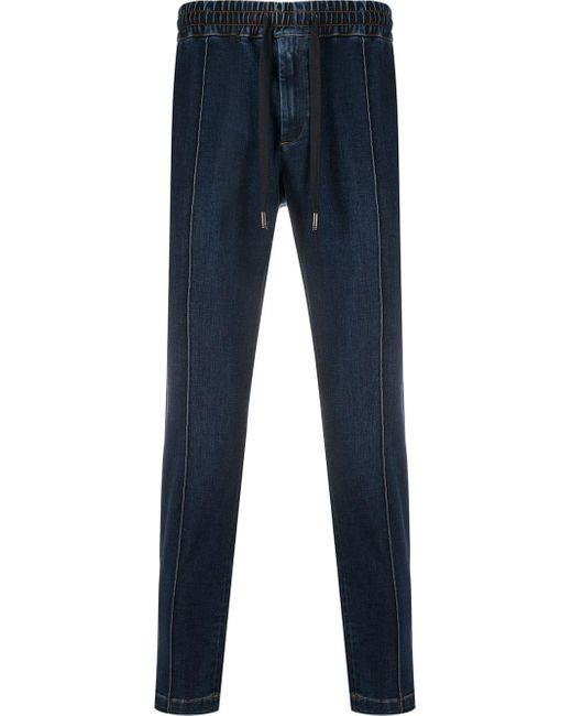 メンズ Dolce & Gabbana テーパード ジーンズ Blue