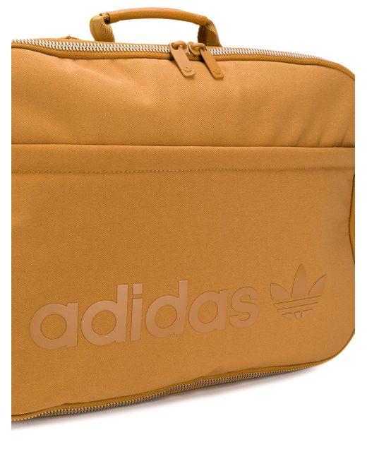 Adidas ロゴ バックパック Brown