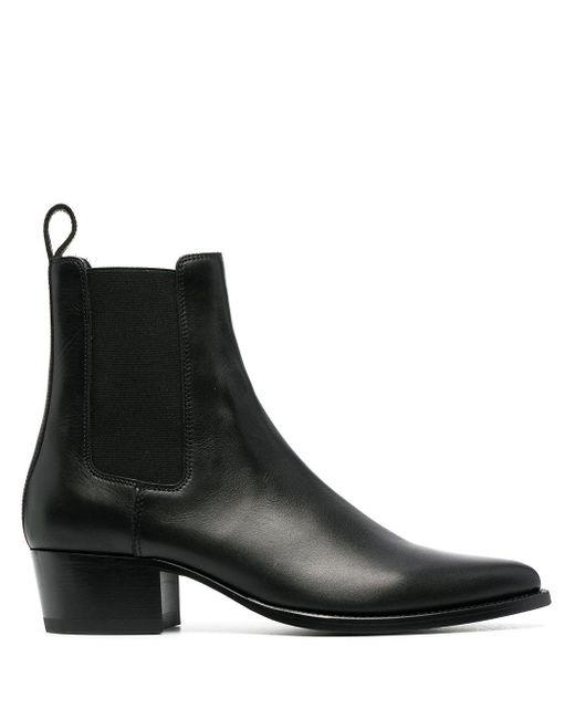 Ботинки С Эластичными Вставками Amiri для него, цвет: Black
